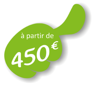 Pouss'deco à partir de 650€