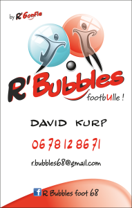 R'Bubbles, du foot en bulle !