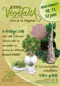 Affiche expo Végétalia 2016