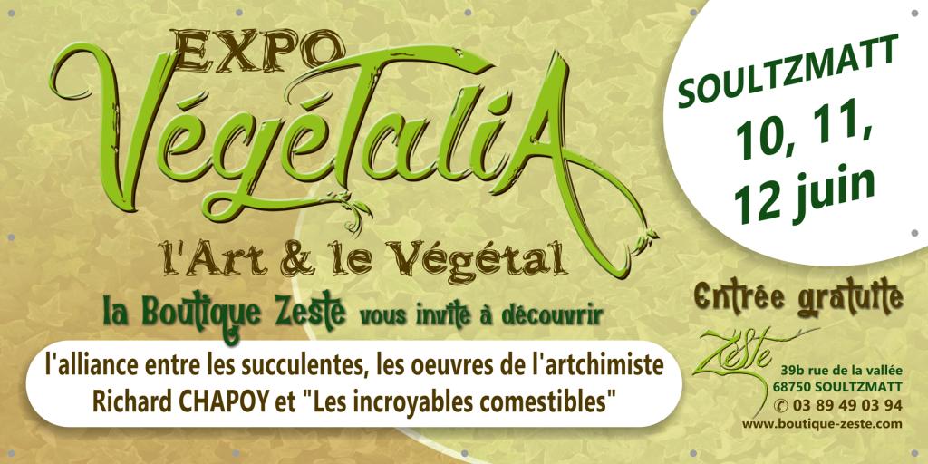Banderole expo Végétalia 2016
