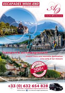 Alsace Original Experiences : affiche Escapade