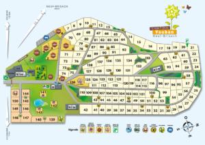 Plan du camping Vauban