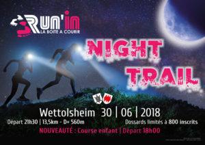 Flyer recto Night Trail