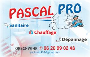 Carte de visite de Pascal Pro