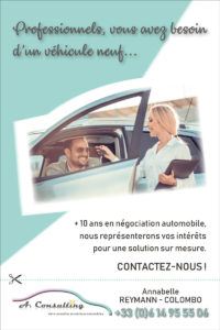 Le flyer recto de A.Consulting
