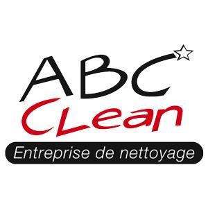 Le logo d'ABC Clean société de nettoyage