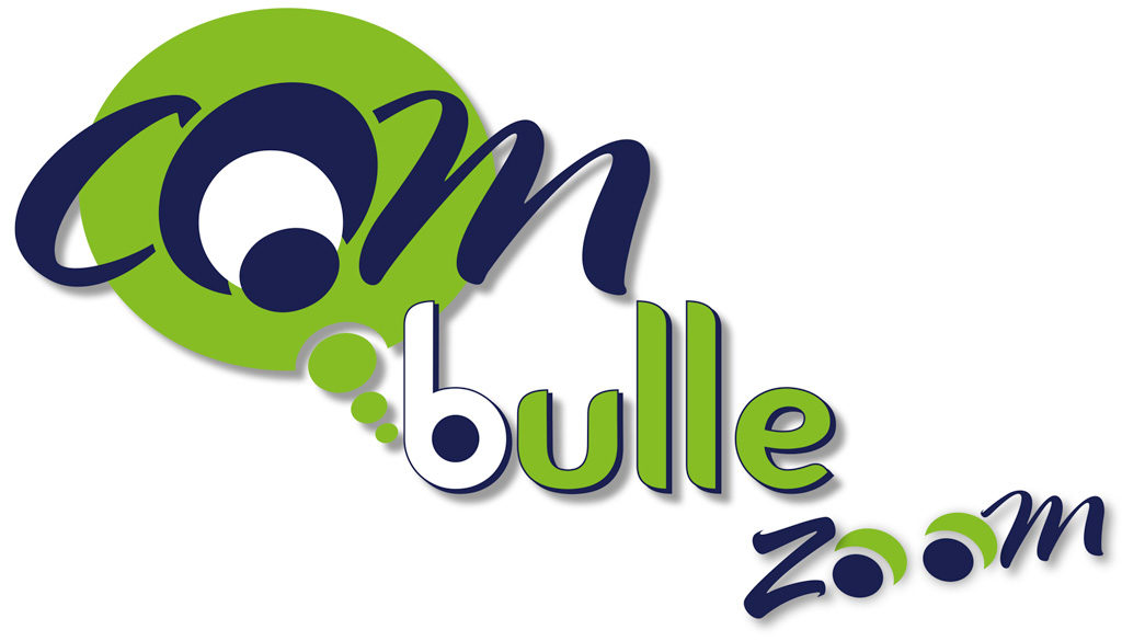 Le logo de COM'bulle zoom